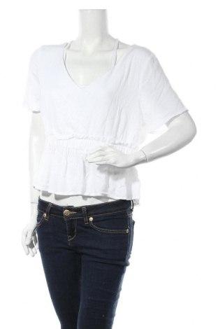 Γυναικεία μπλούζα Missguided, Μέγεθος XL, Χρώμα Λευκό, Βισκόζη, Τιμή 4,12€