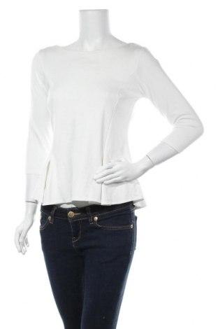 Γυναικεία μπλούζα Mohito, Μέγεθος L, Χρώμα Λευκό, 62% βισκόζη, 32% πολυεστέρας, 6% ελαστάνη, Τιμή 10,17€