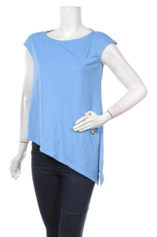 Дамска блуза Mohito, Размер XS, Цвят Син, 94% полиестер, 6% еластан, Цена 9,18лв.