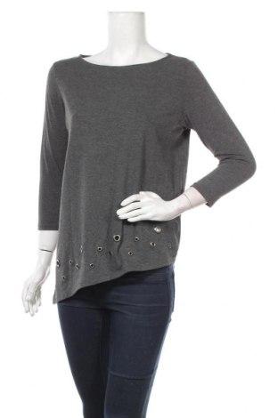 Γυναικεία μπλούζα Mohito, Μέγεθος M, Χρώμα Γκρί, 63% πολυεστέρας, 32% βισκόζη, 5% ελαστάνη, Τιμή 10,83€