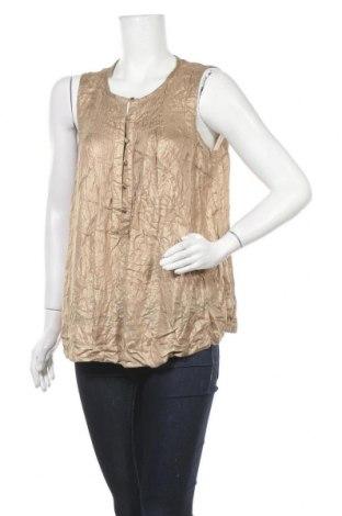 Γυναικείο αμάνικο μπλουζάκι Noa Noa, Μέγεθος L, Χρώμα  Μπέζ, Βισκόζη, Τιμή 20,27€