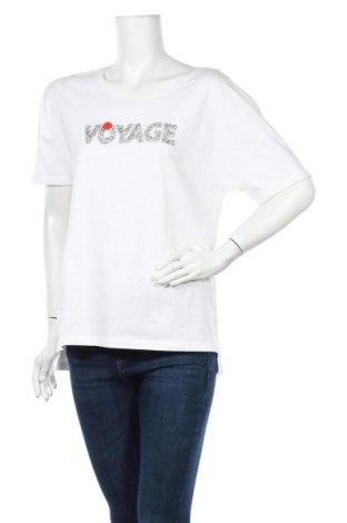 Дамска блуза ONLY, Размер M, Цвят Бял, Памук, Цена 22,62лв.