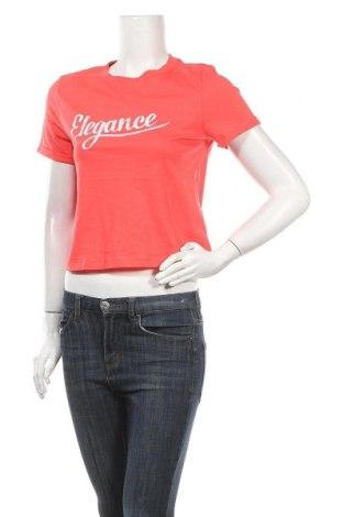 Дамска тениска ONLY, Размер S, Цвят Розов, Памук, Цена 12,92лв.