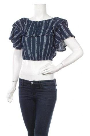 Γυναικεία μπλούζα Paper Heart, Μέγεθος S, Χρώμα Μπλέ, Τιμή 3,86€