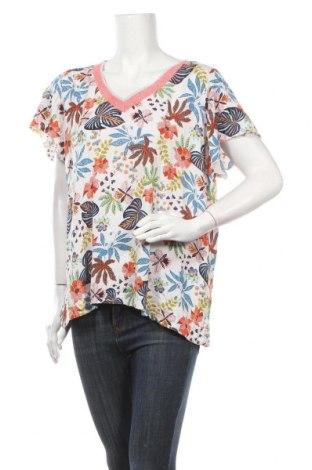 Дамска блуза Paprika, Размер XL, Цвят Многоцветен, 99% вискоза, 1% метални нишки, Цена 14,18лв.