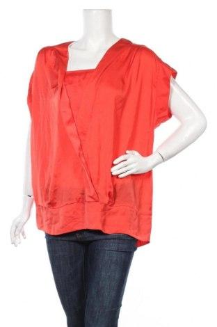 Дамска блуза Patrizia Dini, Размер L, Цвят Оранжев, Цена 5,18лв.