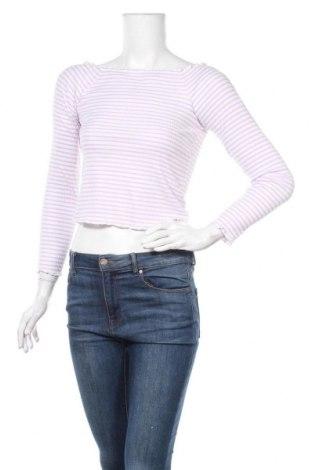 Γυναικεία μπλούζα Pieces, Μέγεθος M, Χρώμα Λευκό, 57% βαμβάκι, 38% πολυεστέρας, 5% ελαστάνη, Τιμή 11,34€