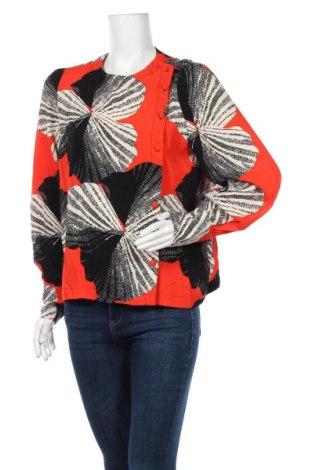 Дамска блуза Selected Femme, Размер S, Цвят Многоцветен, Вискоза, Цена 24,08лв.