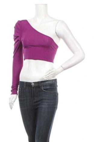 Γυναικεία μπλούζα Simple Wish, Μέγεθος S, Χρώμα Βιολετί, Τιμή 4,64€