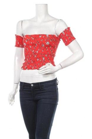 Дамска блуза Sinsay, Размер L, Цвят Червен, 100% вискоза, Цена 6,50лв.