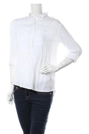 Дамска блуза Sinsay, Размер S, Цвят Бял, Вискоза, Цена 8,28лв.