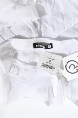 Дамска блуза Sinsay, Размер S, Цвят Бял, Вискоза, Цена 9,00лв.