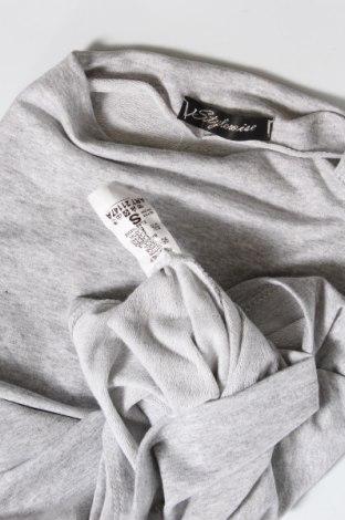 Дамска блуза Stylewise, Размер S, Цвят Сив, 95% памук, 5% еластан, Цена 16,00лв.