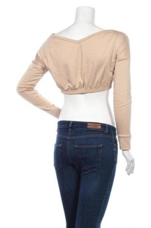 Дамска блуза Stylewise, Размер S, Цвят Бежов, 95% полиестер, 5% еластан, Цена 8,50лв.
