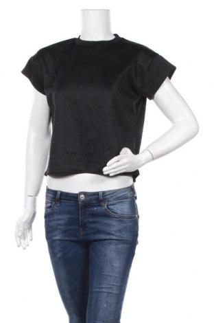 Дамска блуза Stylewise, Размер S, Цвят Черен, 95% полиестер, 5% еластан, Цена 16,00лв.