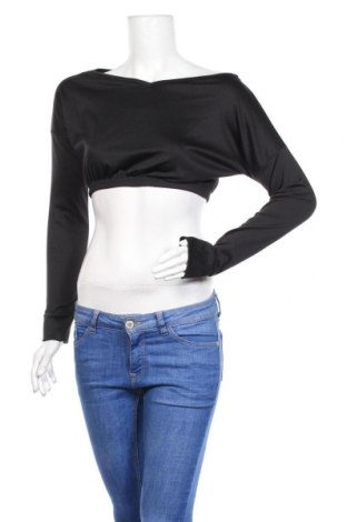 Дамска блуза Stylewise, Размер S, Цвят Черен, 95% полиестер, 5% еластан, Цена 9,52лв.
