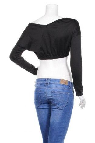 Дамска блуза Stylewise, Размер S, Цвят Черен, 95% полиестер, 5% еластан, Цена 7,82лв.