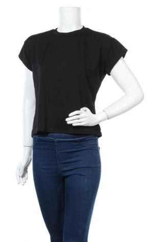 Дамска блуза Stylewise, Размер S, Цвят Черен, 95% полиестер, 5% еластан, Цена 14,40лв.