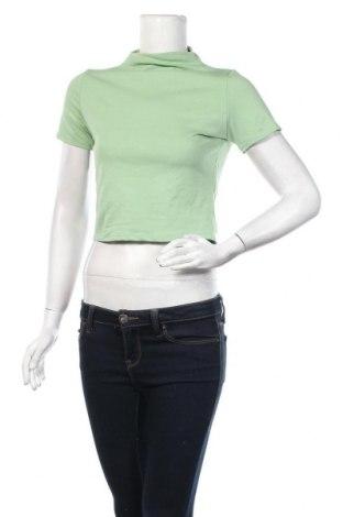 Γυναικεία μπλούζα Stylewise, Μέγεθος S, Χρώμα Πράσινο, 95% βαμβάκι, 5% ελαστάνη, Τιμή 6,60€