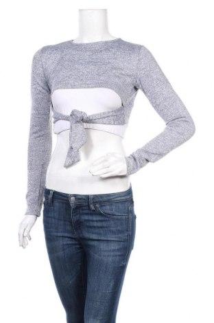 Дамска блуза Top Fashion, Размер S, Цвят Сив, Цена 3,00лв.
