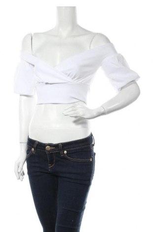 Γυναικεία μπλούζα Top Fashion, Μέγεθος S, Χρώμα Λευκό, Τιμή 7,01€