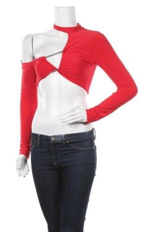 Γυναικεία μπλούζα Top Fashion, Μέγεθος S, Χρώμα Κόκκινο, Τιμή 5,49€