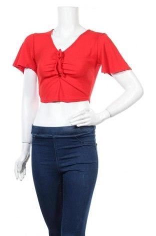 Дамска блуза Top Fashion, Размер S, Цвят Червен, Цена 24,00лв.