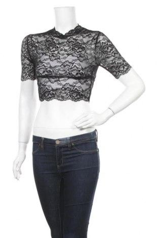 Дамска блуза Top Fashion, Размер S, Цвят Черен, Цена 5,12лв.