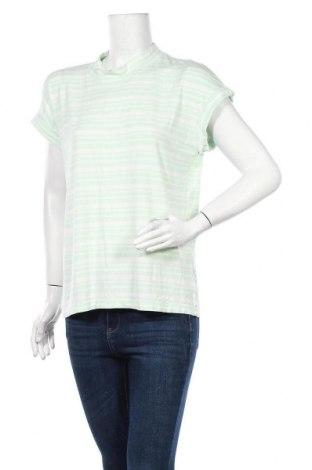 Дамска блуза Vrs Woman, Размер L, Цвят Зелен, 95% вискоза, 5% еластан, Цена 4,46лв.