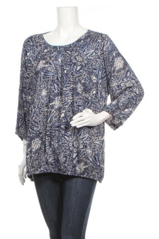 Дамска блуза Zhenzi, Размер M, Цвят Син, Вискоза, Цена 4,54лв.