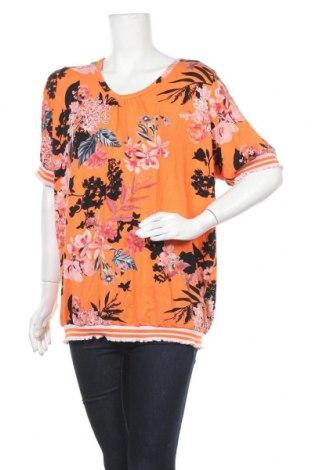 Дамска блуза Zhenzi, Размер XL, Цвят Многоцветен, 92% вискоза, 8% еластан, Цена 16,07лв.