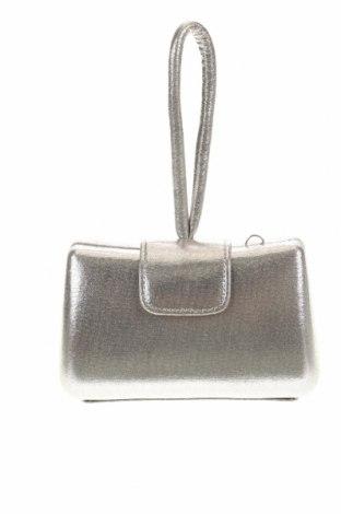 Дамска чанта, Цвят Сребрист, Текстил, Цена 21,00лв.