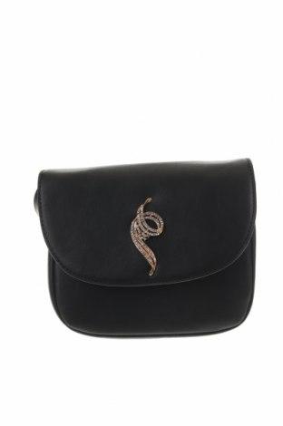 Γυναικεία τσάντα, Χρώμα Μαύρο, Δερματίνη, Τιμή 13,92€