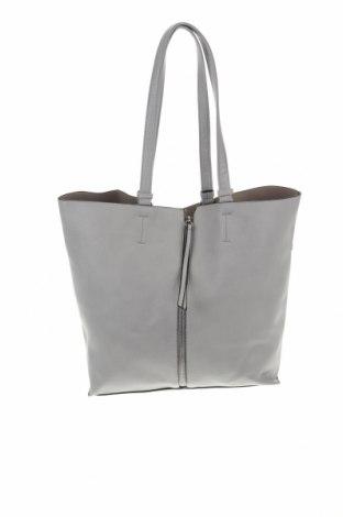 Дамска чанта House, Цвят Сив, Еко кожа, Цена 33,12лв.