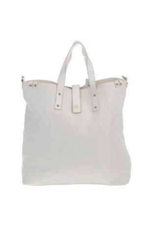 Дамска чанта Cropp, Цвят Бял, Еко кожа, Цена 44,25лв.