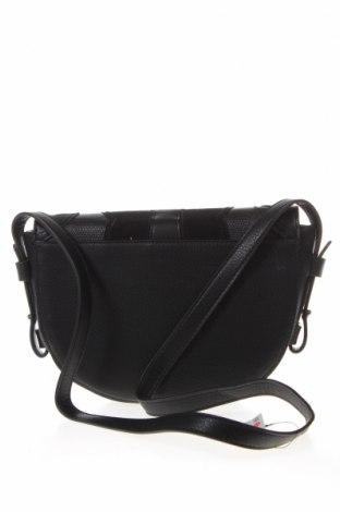 Дамска чанта Cropp, Цвят Черен, Еко кожа, Цена 23,52лв.