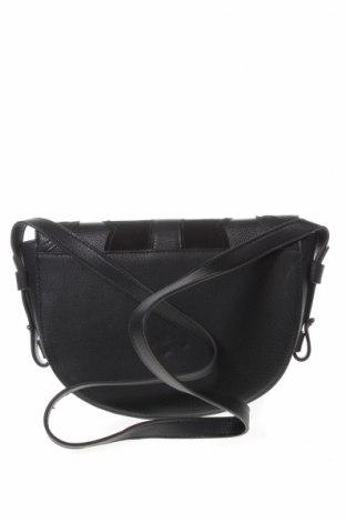 Дамска чанта Cropp, Цвят Черен, Еко кожа, Цена 24,36лв.