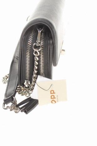 Дамска чанта Cropp, Цвят Черен, Еко кожа, Цена 17,55лв.