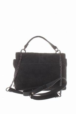 Дамска чанта Cropp, Цвят Черен, Текстил, Цена 28,42лв.