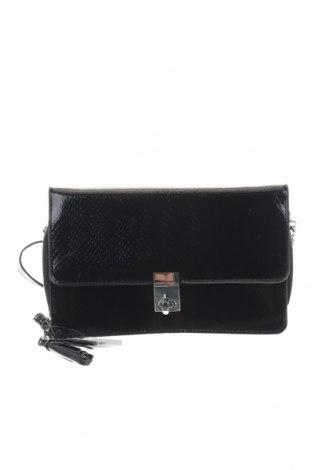 Γυναικεία τσάντα Cropp, Χρώμα Μαύρο, Δερματίνη, Τιμή 7,58€