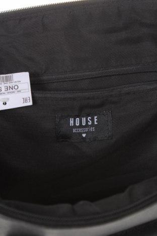 Дамска чанта House, Цвят Черен, Еко кожа, Цена 28,32лв.