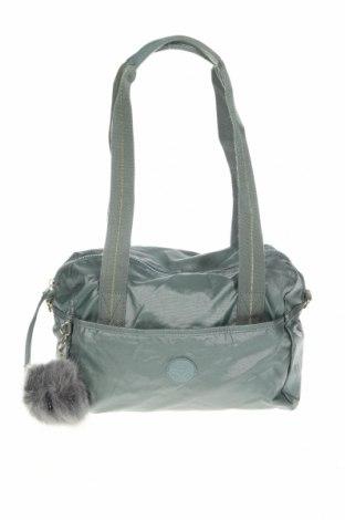 Дамска чанта Kipling, Цвят Зелен, Текстил, Цена 27,93лв.