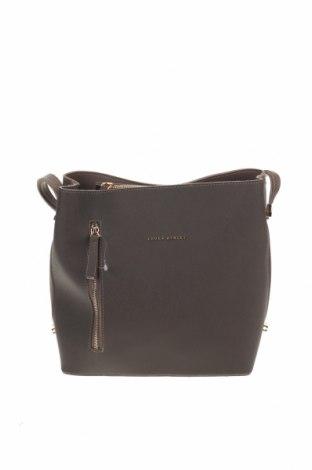 Дамска чанта Laura Ashley, Цвят Кафяв, Еко кожа, Цена 32,45лв.