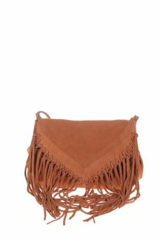 Γυναικεία τσάντα Mohito, Χρώμα Καφέ, Φυσικό σουέτ, Τιμή 21,14€