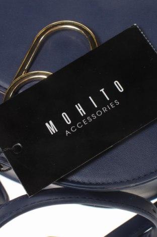 Дамска чанта Mohito, Цвят Син, Еко кожа, Цена 23,52лв.