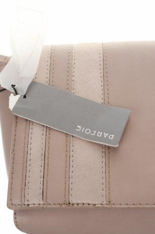 Дамска чанта Parfois, Цвят Бежов, Еко кожа, Цена 23,52лв.