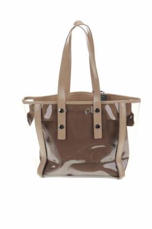 Γυναικεία τσάντα Parfois, Χρώμα  Μπέζ, Πολυουρεθάνης, δερματίνη, Τιμή 15,21€