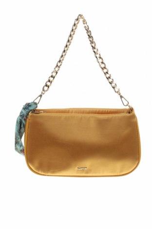 Дамска чанта Parfois, Цвят Жълт, Текстил, Цена 15,36лв.
