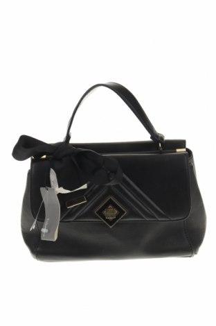 Дамска чанта Parfois, Цвят Черен, Еко кожа, Цена 17,16лв.