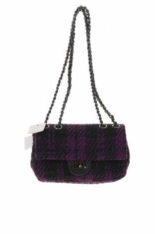 Дамска чанта Reserved, Цвят Лилав, Текстил, еко кожа, Цена 22,05лв.